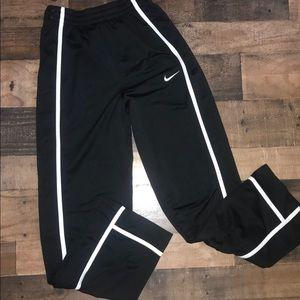 Nike dri fit Button down Athletic pants bottoms S